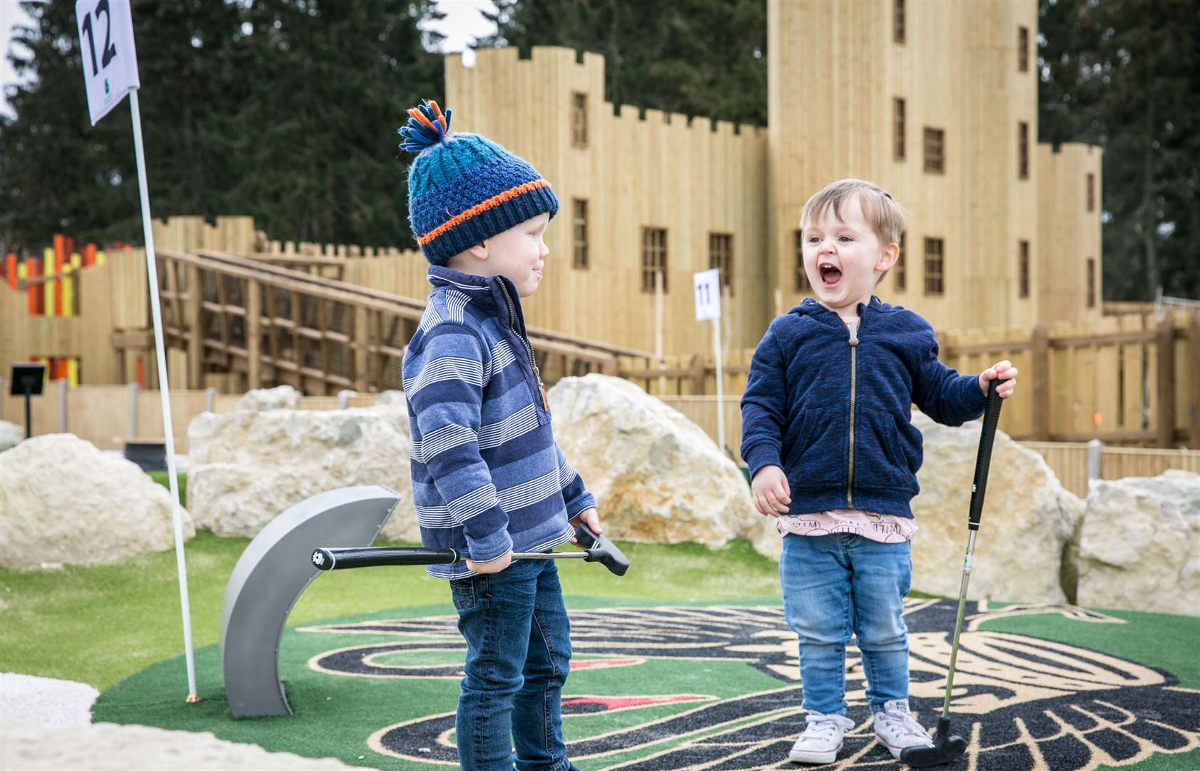 Adventure Golf at Leeds Castle. Picture: www.matthewwalkerphotography.com