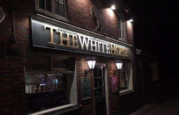 The Secret Drinker spent an evening at The White Horse in Headcorn