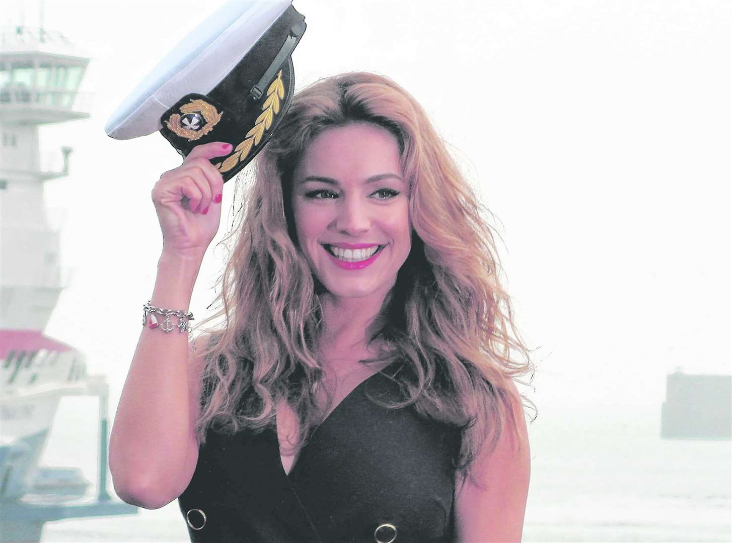Kelly Brook is one of the presenters on Heart