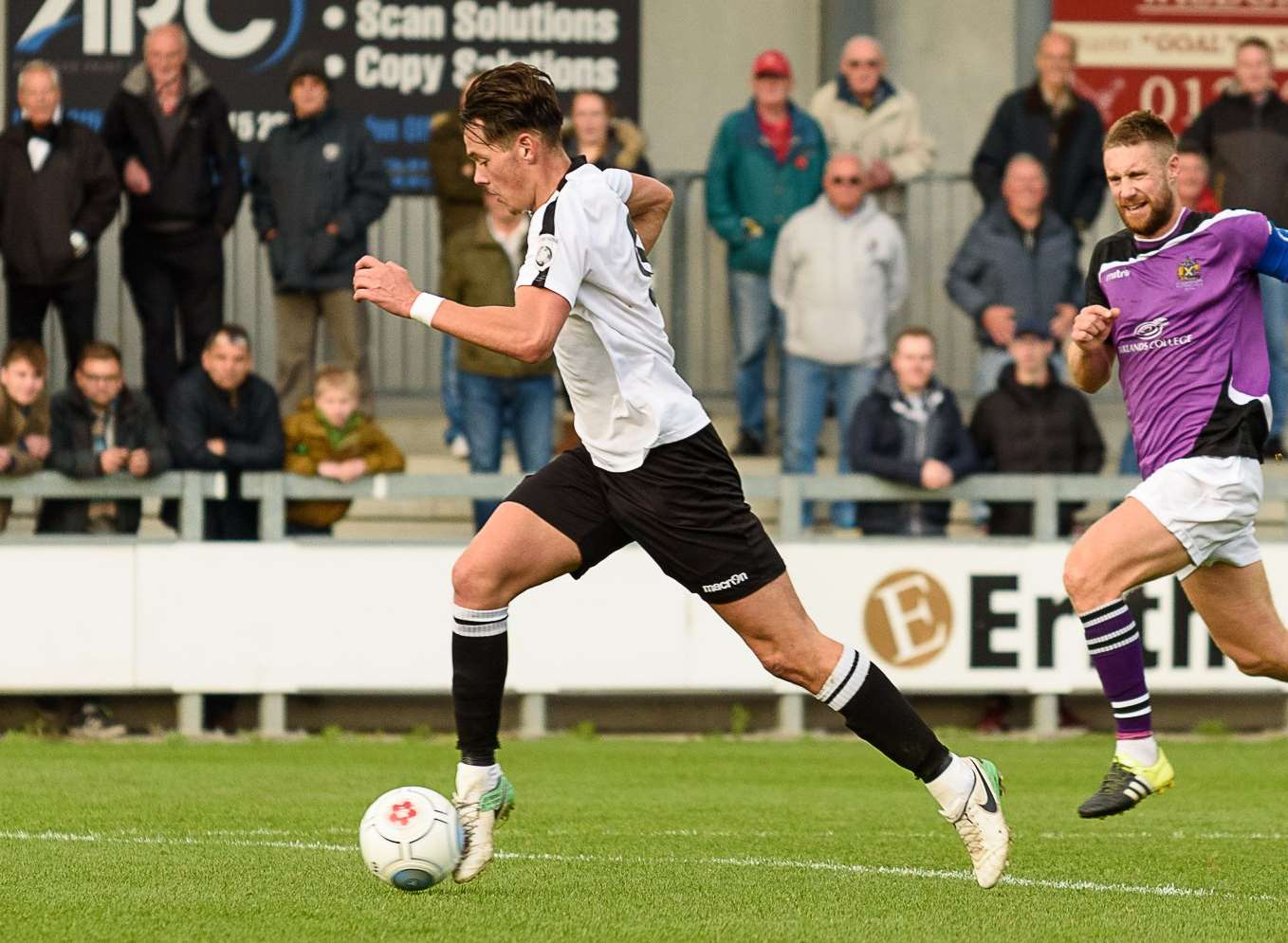 Dartford will look to Alfie Pavey for goals against Swindon Picture: Tony Jones