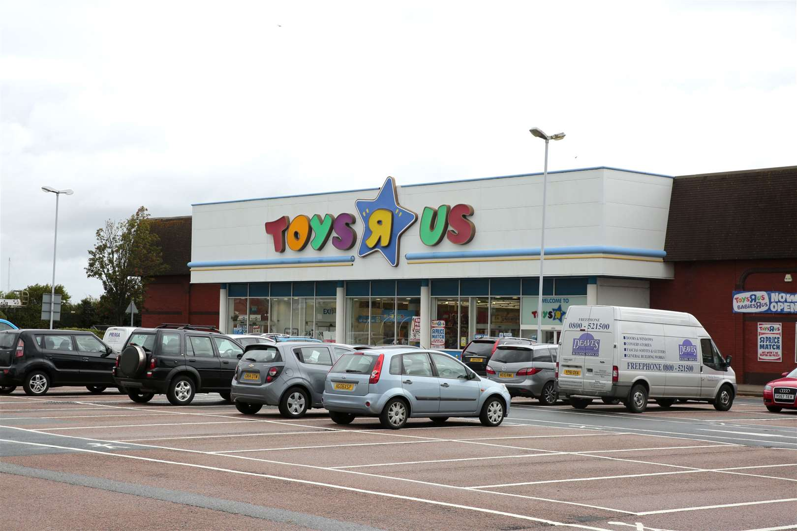 The former Toys R Us store, in Horsted Retail Park, Maidstone Road, Chatham