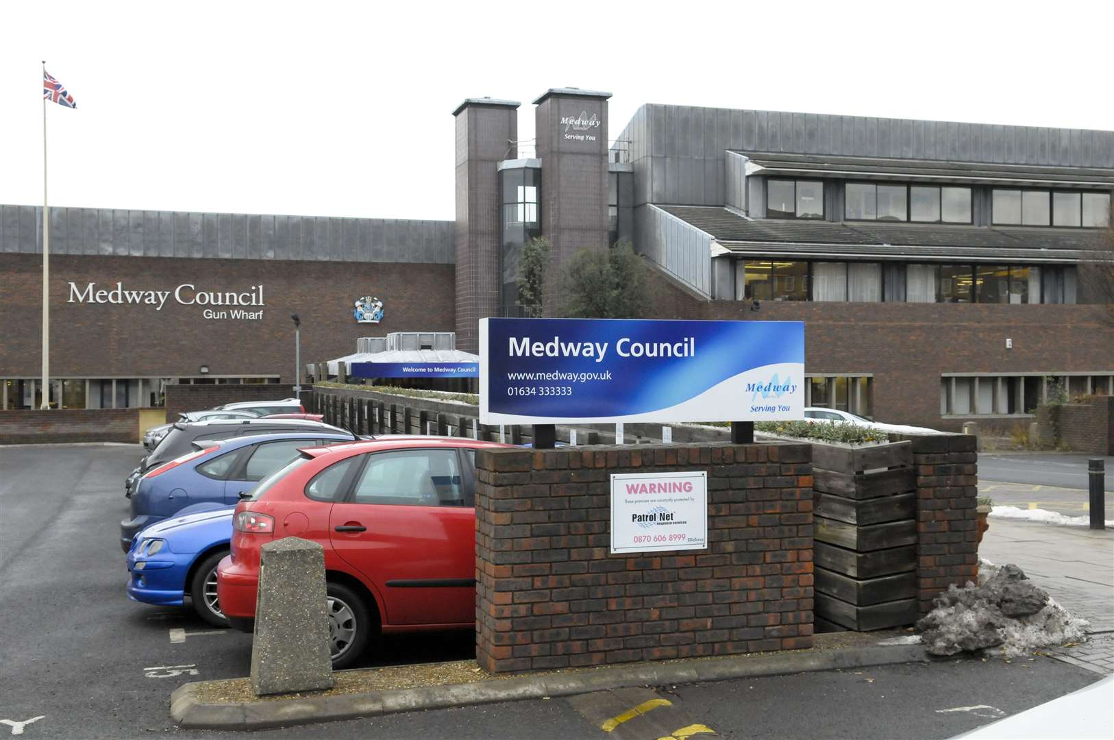 Medway Council offices at Gun Wharf, Dock Road, Chatham