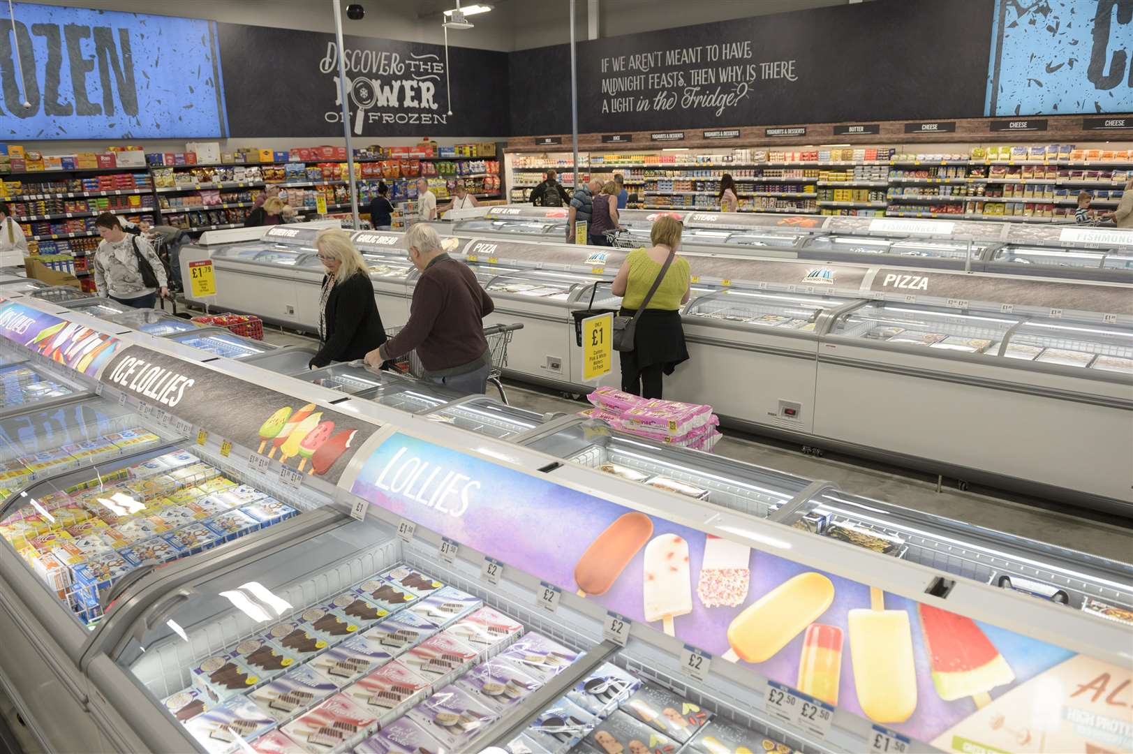 The Food Warehouse has opened on the Spring Retail Park