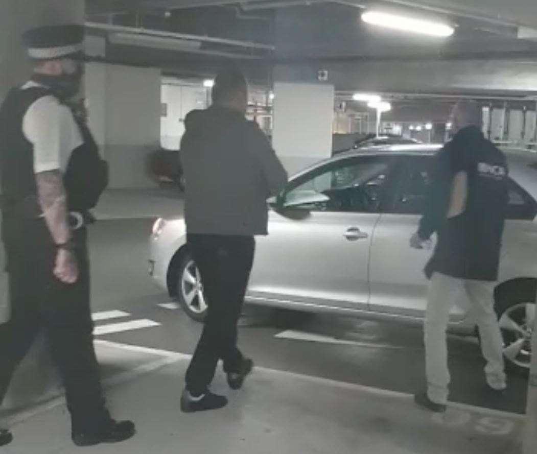 Viens no arestiem Lambetā.  Foto: Nacionālā noziedzības aģentūra