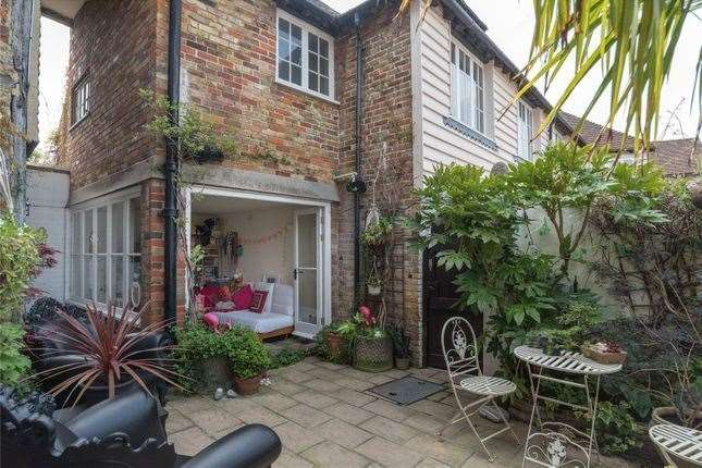 Out the back of the property. Picture: Zoopla / Strutt & Parker