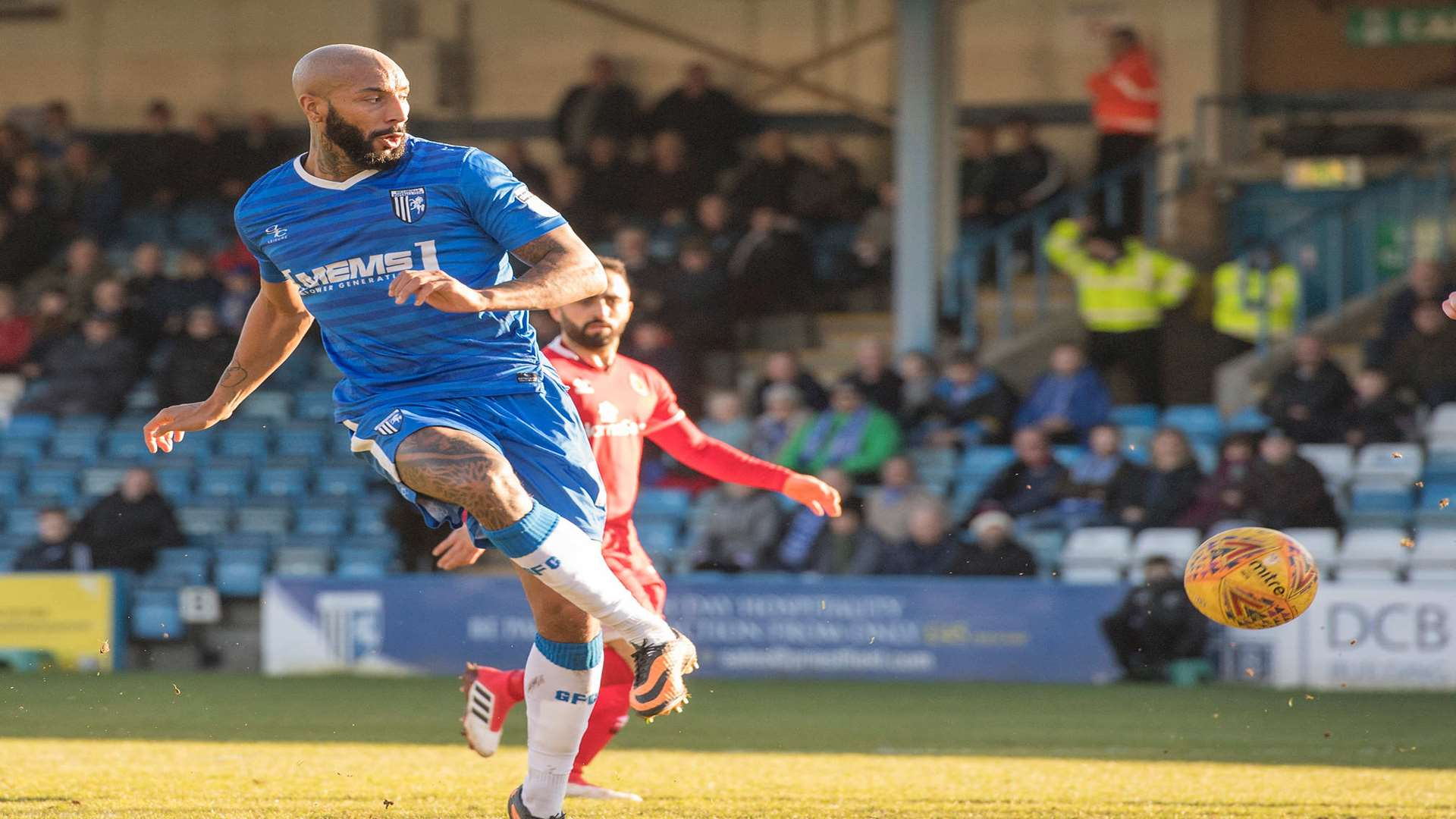 Josh Parker in action for the Gills Picture: Andy Payton