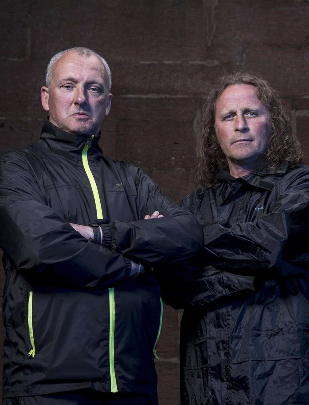 Paul James and Nick Batchelor appear on Channel 4's The Hunted (6449395)