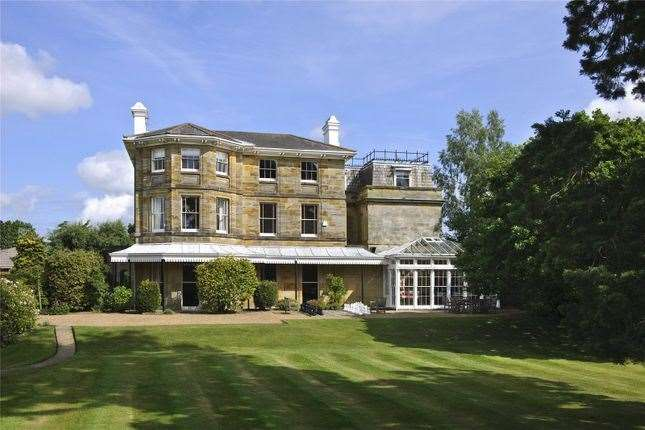 Nine-bed detached house in Pembury Road, Tunbridge Wells. Picture: Zoopla / Savills