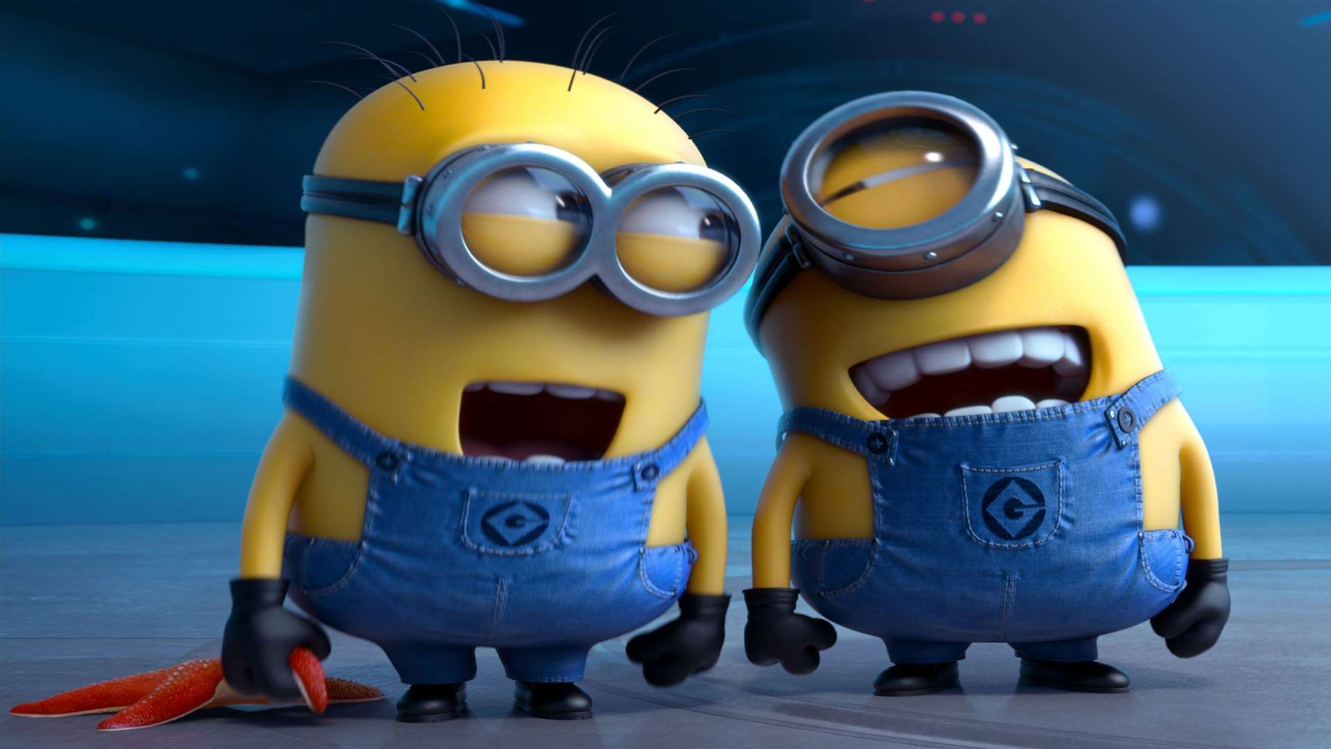 Minions in Despicable Me 2. Picture: PA Photo/UPI Media