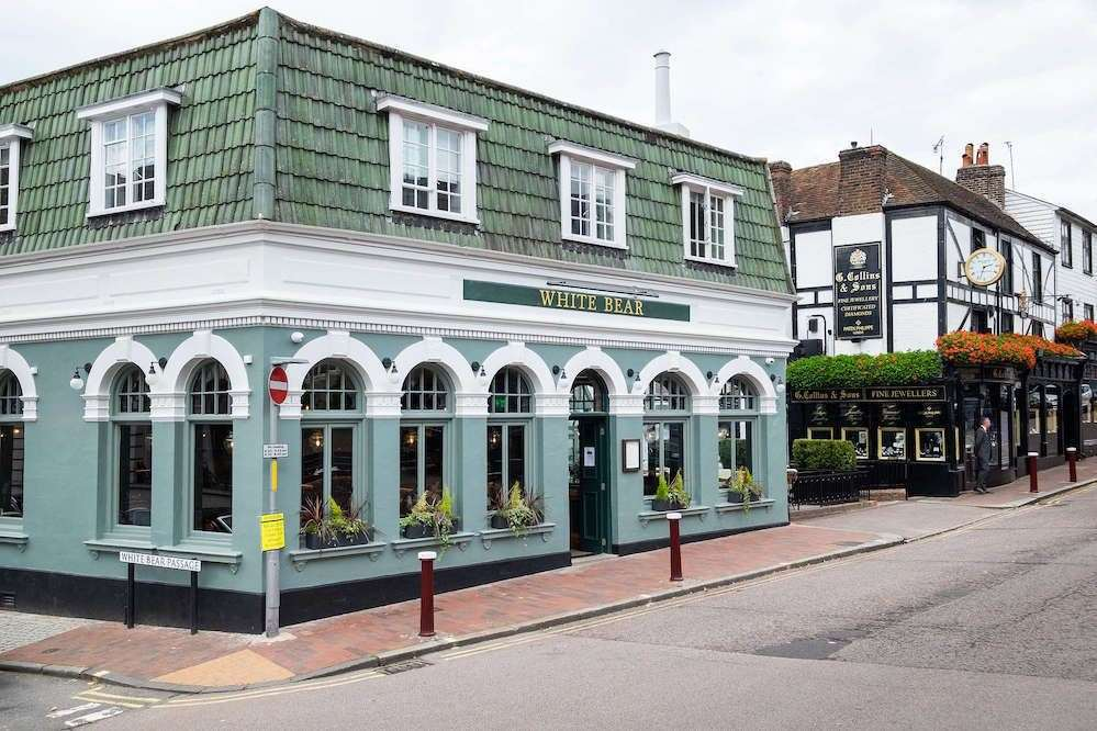 The White Bear has reopened in Tunbridge Wells