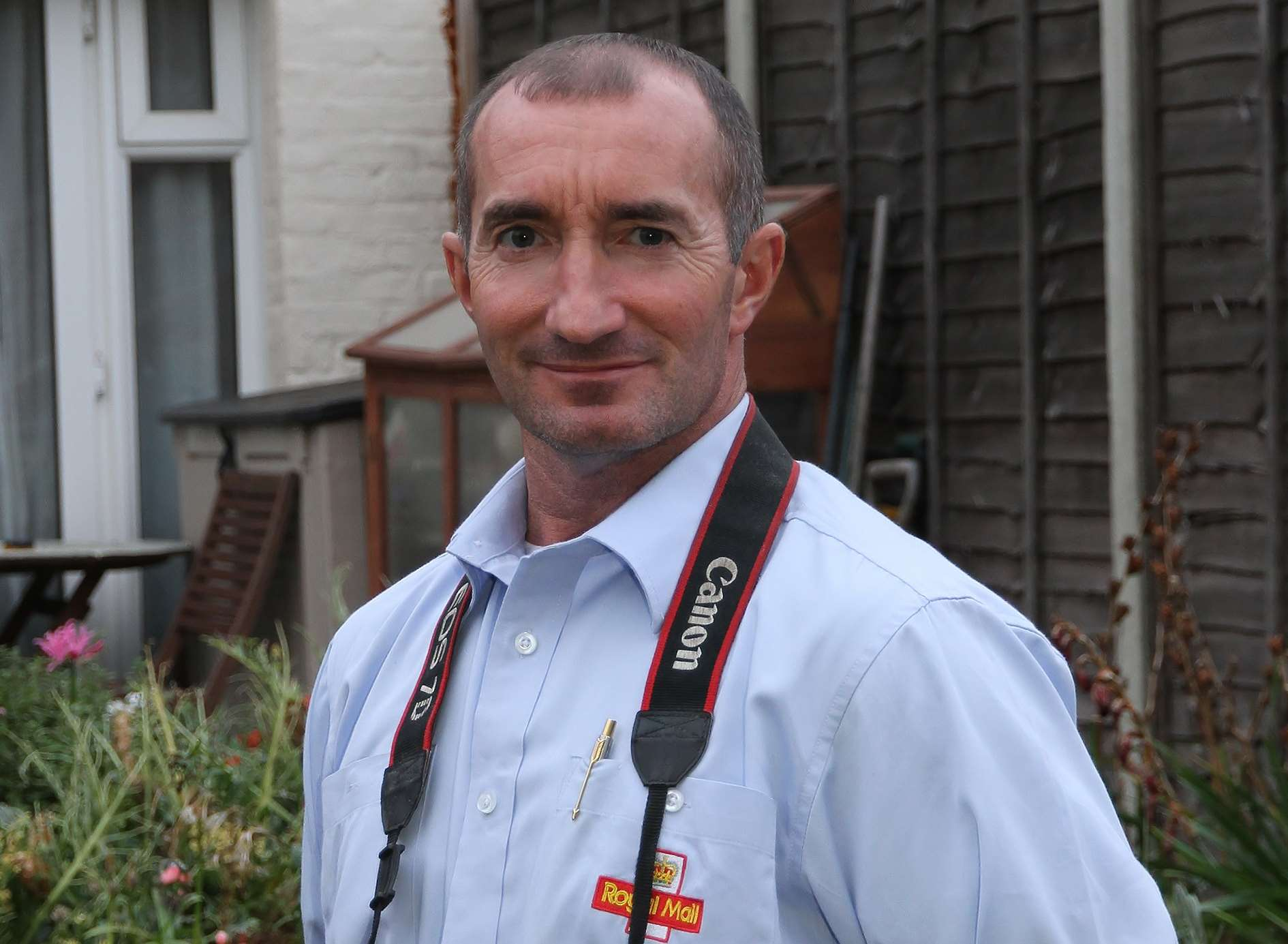 Jason Steel has been a postman in Dartford for the last 28 years