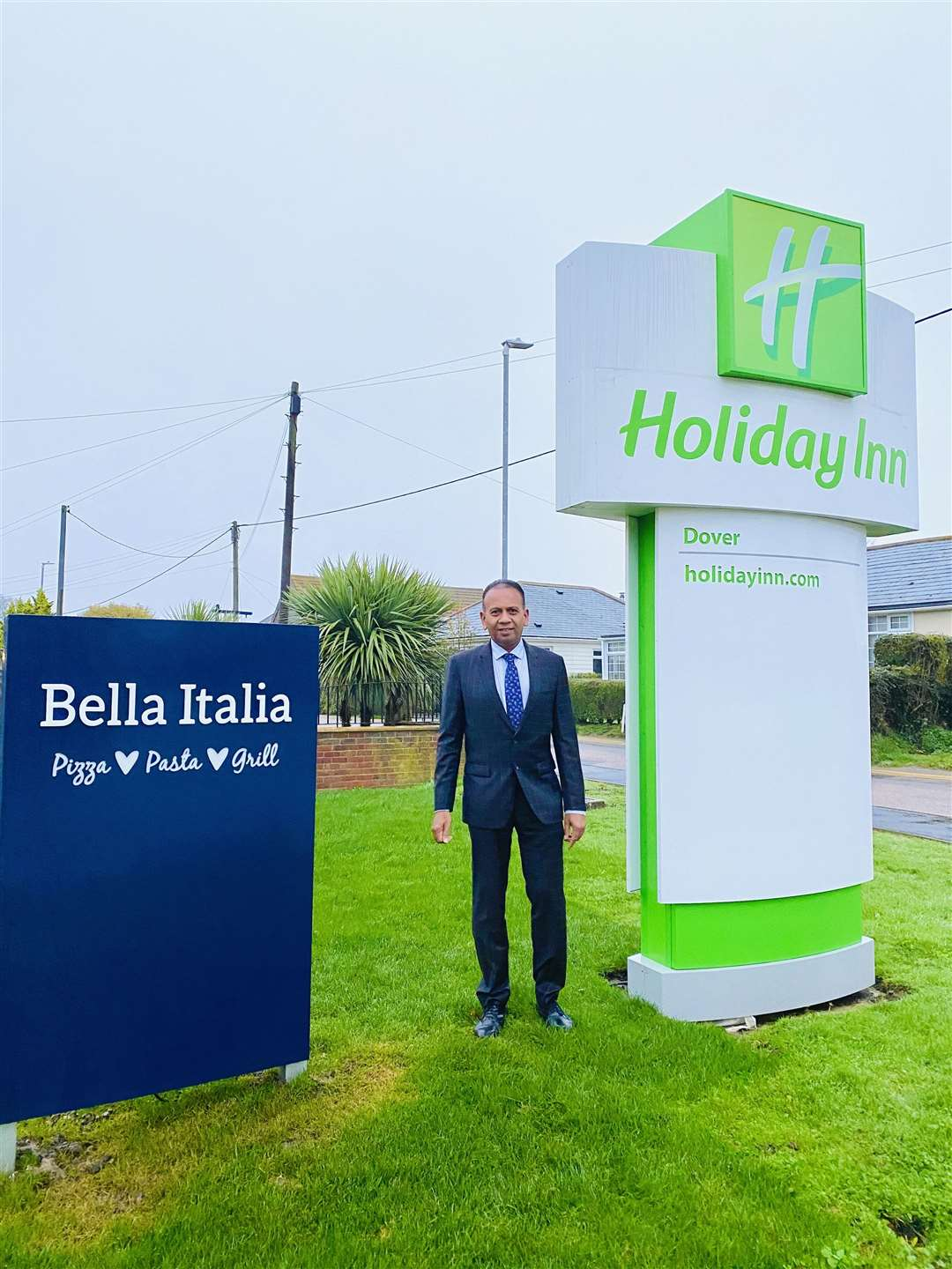 Kanagaratnam Rajamenon of Dover Leaf Hotel has invested in the hotel by rebranding it Holiday Inn