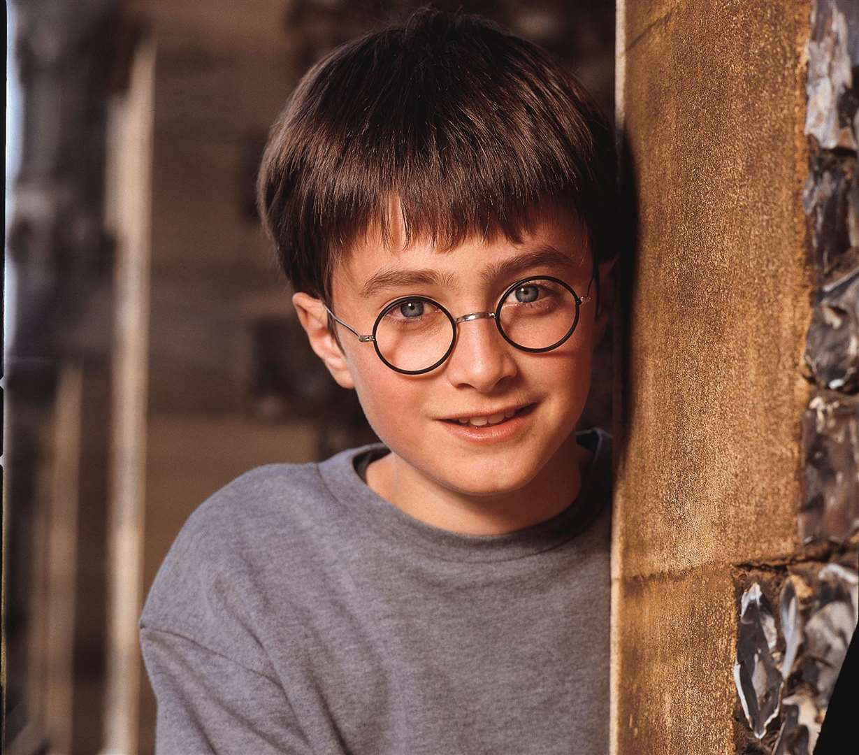 Daniel Radcliffe as a young Harry Potter Picture: Terry O'Neill, Warner Brothers Pictures