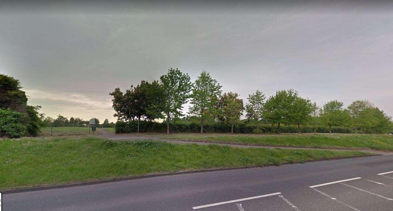 The park along Coldharbour Road. Picture: Google