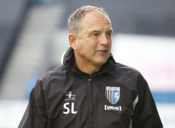 Caretaker Gillingham boss Steve Lovell Picture: Andy Jones