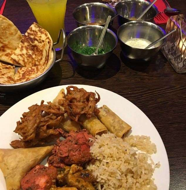 The Bollywood Buffet has been rated 4th best restaurant in the county. Picture: TripAdvisor