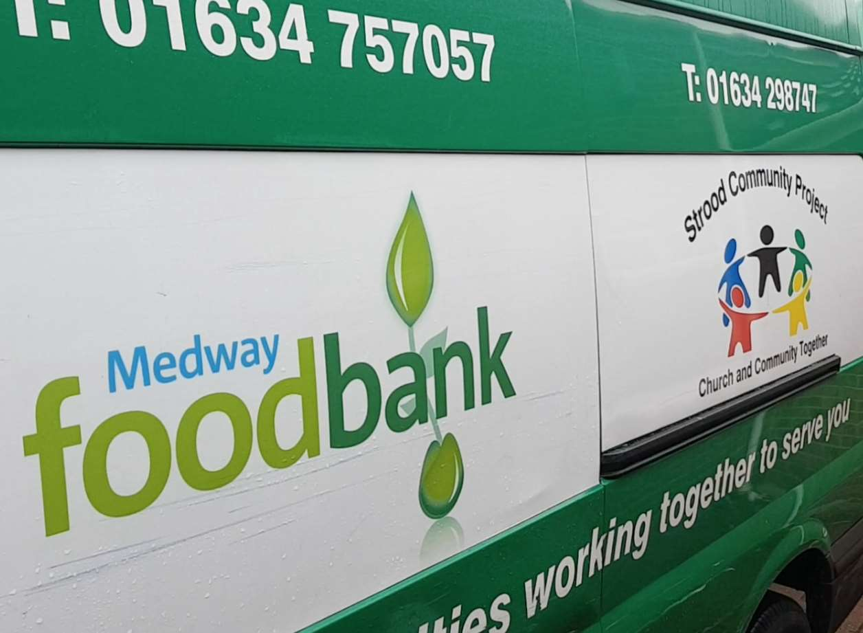The Number Of People Relying On Foodbank Centres In Medway