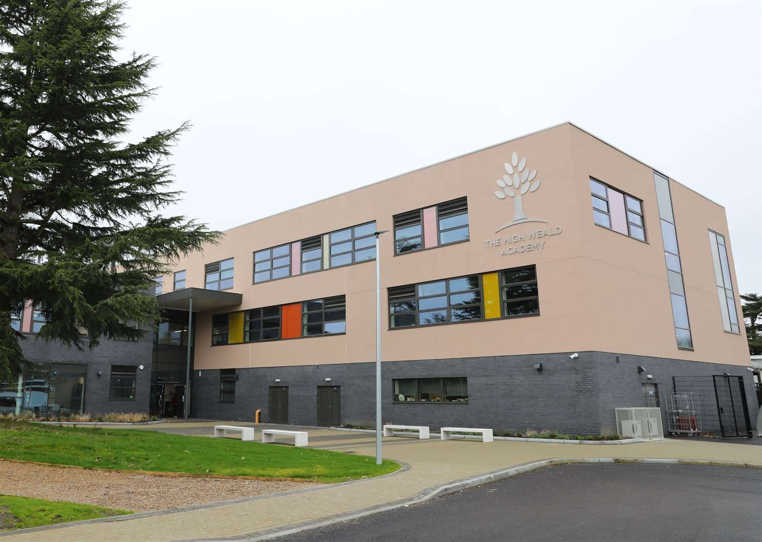 The High Weald Academy in Cranbrook would be absorbed as part of the plans. Picture: Andy Jones.