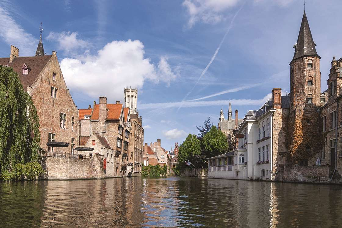 Bruges is known as the Venice of the North