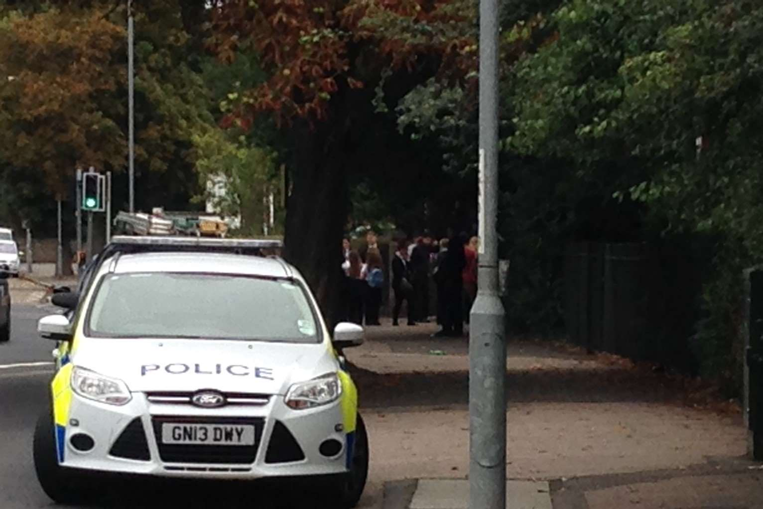 Police intervened as parents protested at Hartsdown Academy in Margate