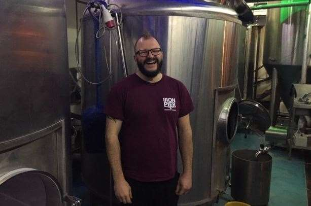Main man James is as happy as he's ever been. This is a fellow who lives to brew and he loves his new brewery