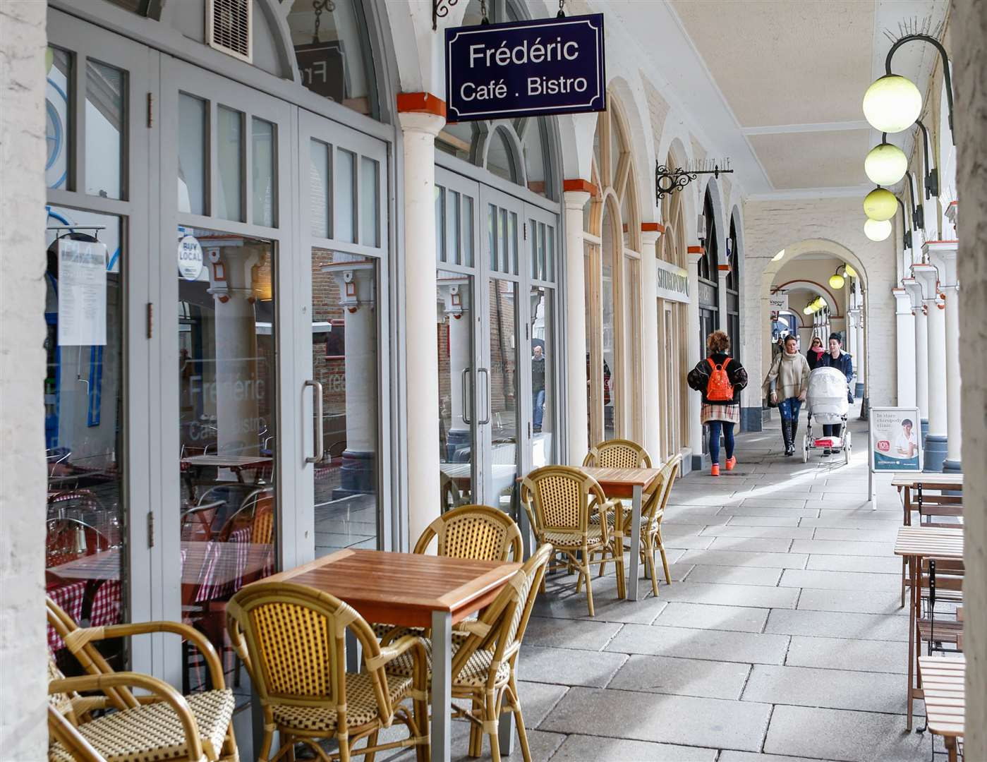 Frederic Bistro in Market Buildings, Maidstone