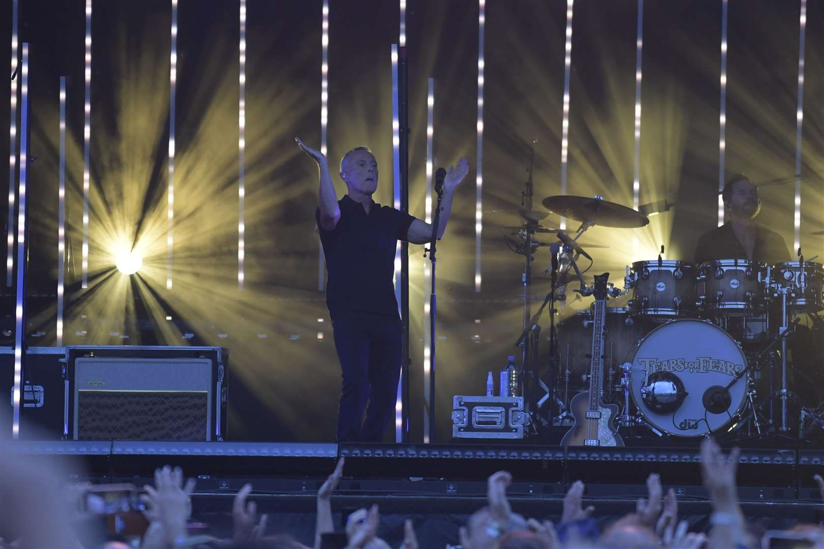 Tears for Fears' Curt Smith at The Spitfire Ground Picture: Barry Goodwin