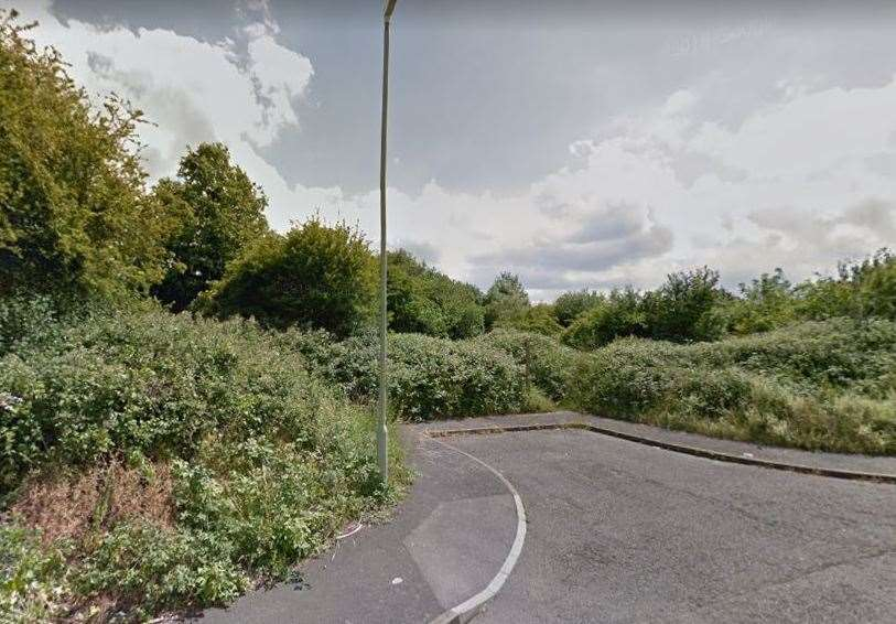 A teenage girl was reportedly raped in an alleyway leading off Eddington Lane in Herne Bay. Picture: Google Street View