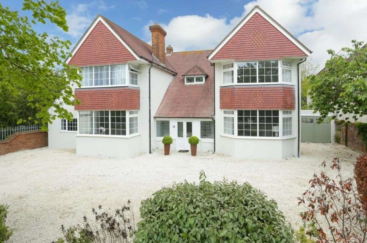 The five-bed detached house in Cherry Garden Avenue. Picture: Zoopla / Miles & Barr