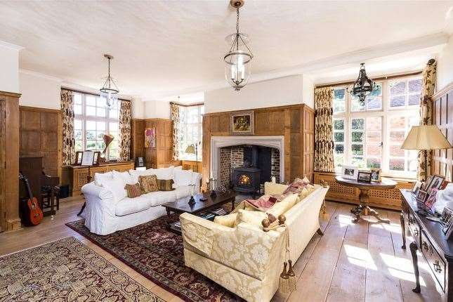 Inside the Grade II*-listed country house. Picture: Zoopla / Savills