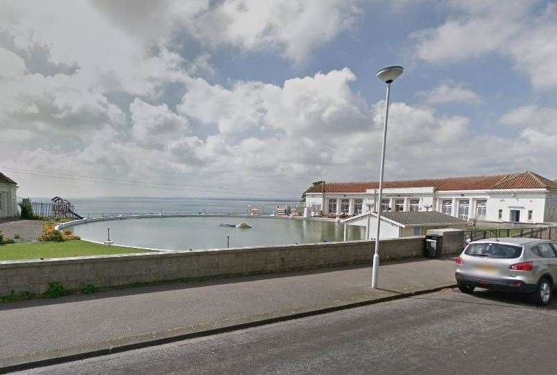 The Ramsgate Boating Pool on the West Cliff is under an application to host a music festival for 3,000 people (12975479)