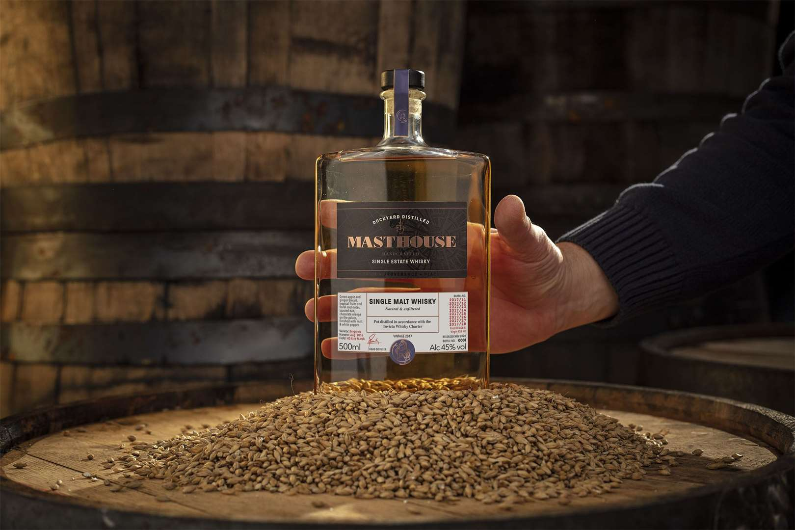 Masthouse whisky made by Copper Rivet in Chatham
