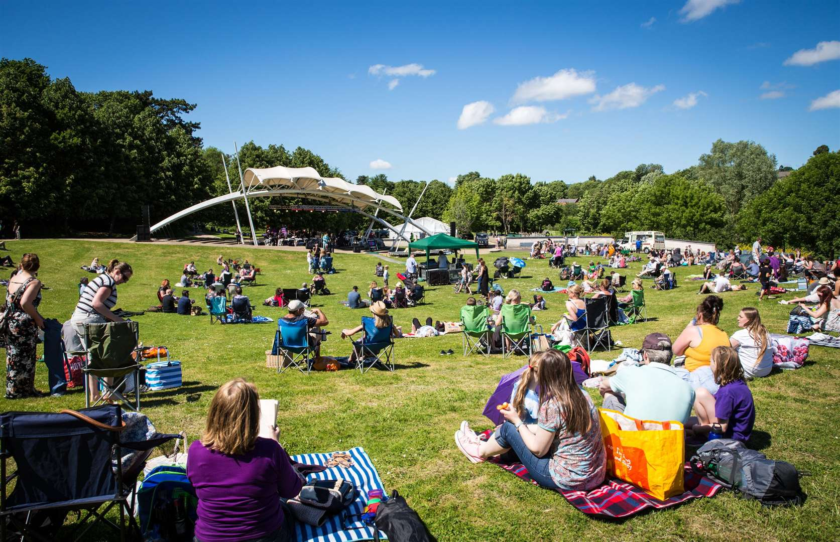 Proms in the Park, Whatman Park, Maidstone, will be back in May Picture: Matthew Walker