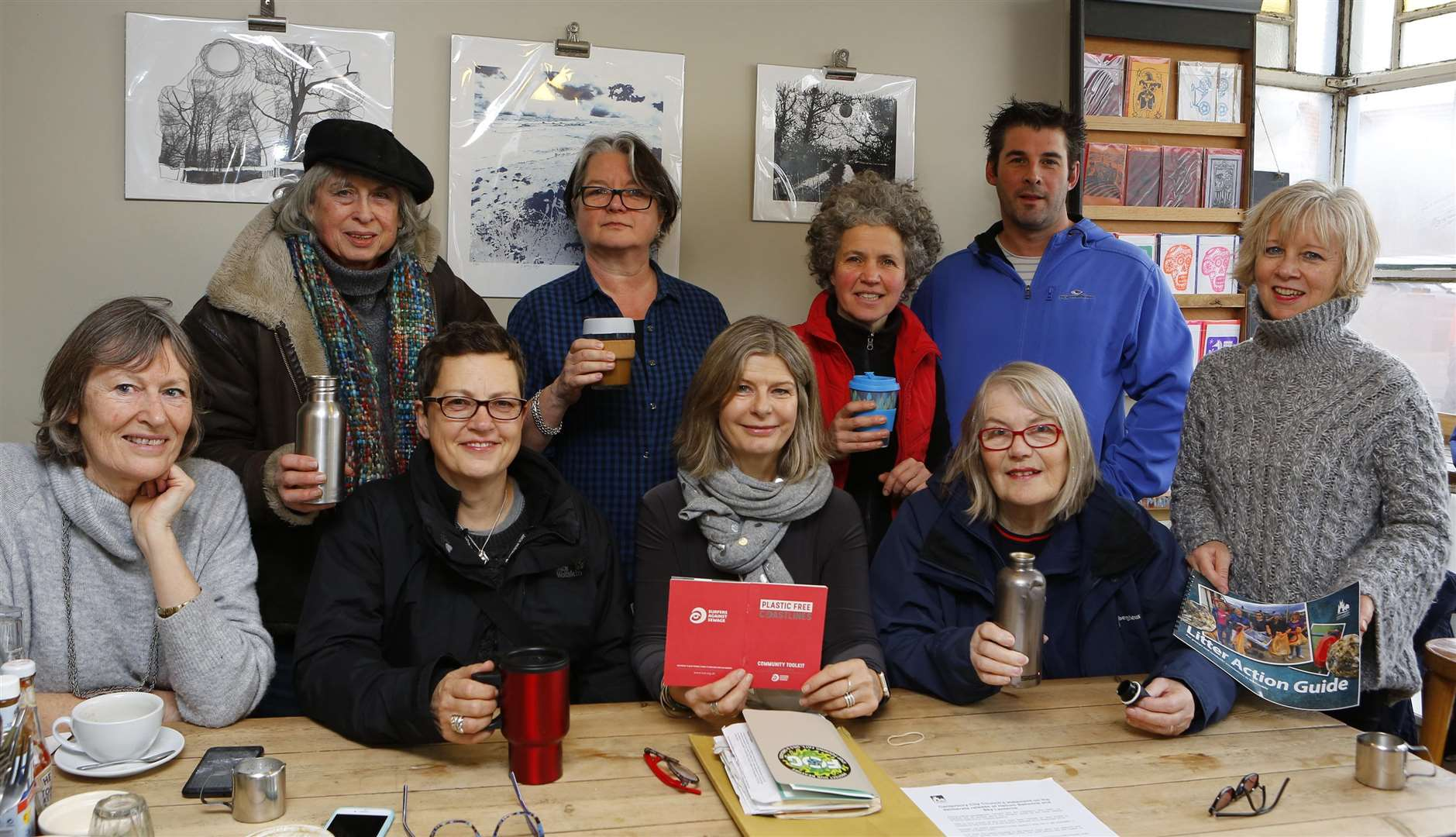 Founding members of Plastic Free Whitstable