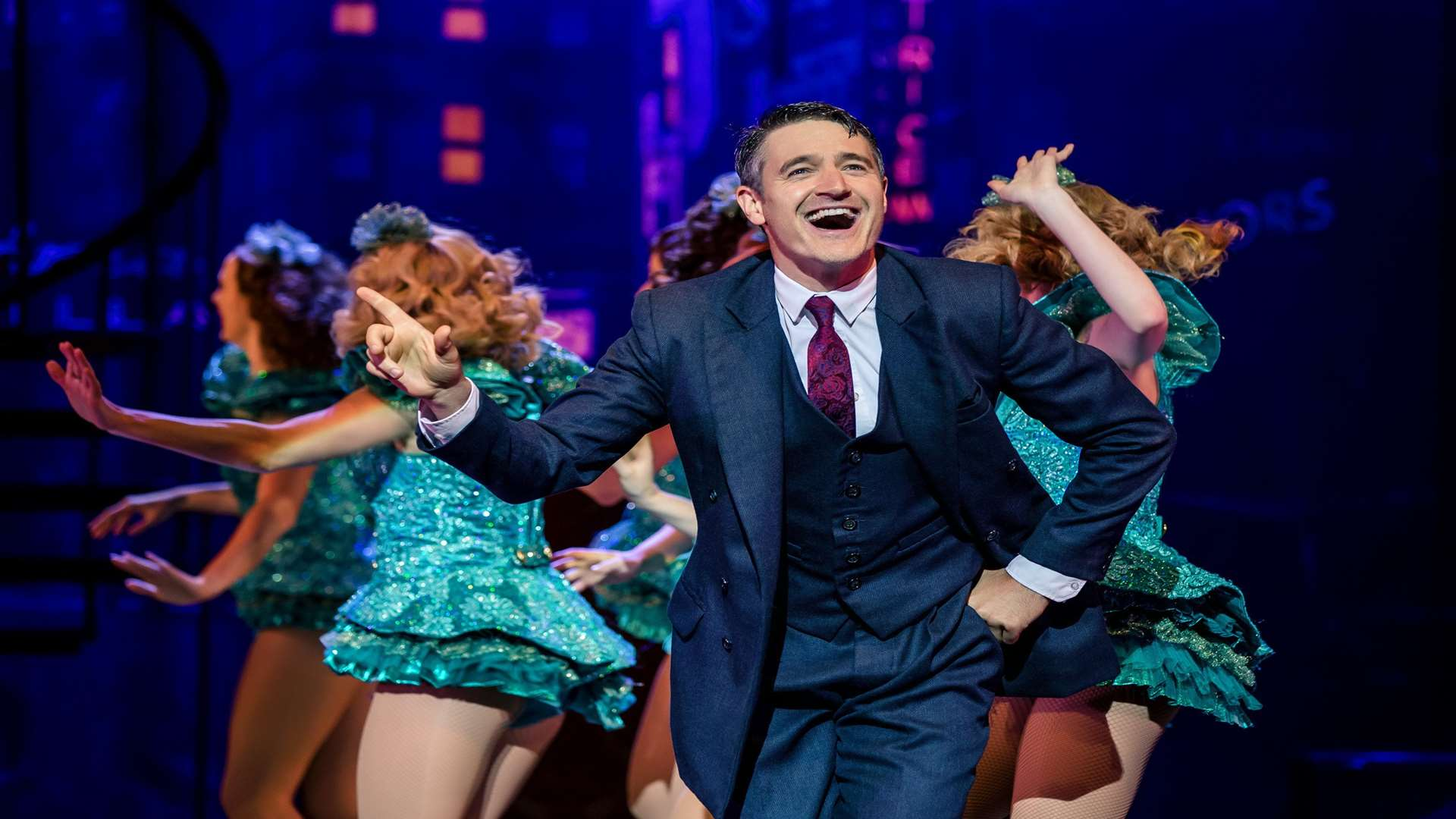 Casualty and Strictly star Tom Chambers is in the musical Crazy For You at Canterbury and Dartford Picture: Richard Davenport