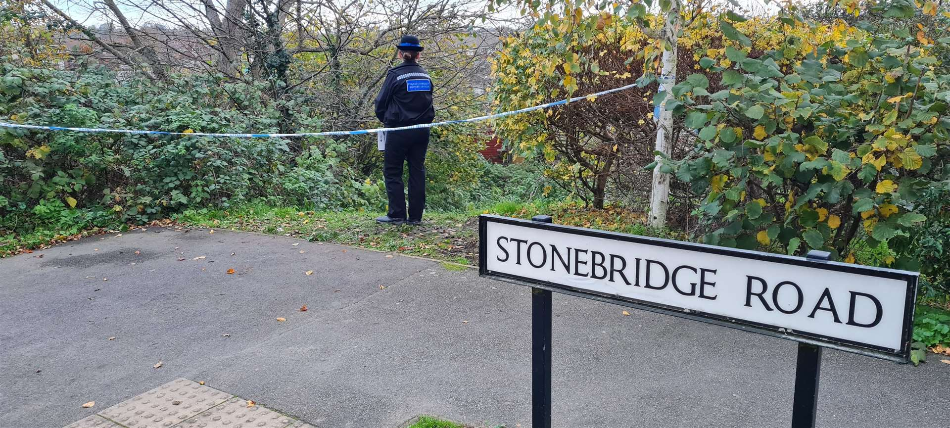 Emergency services have been called to Stonebridge Road