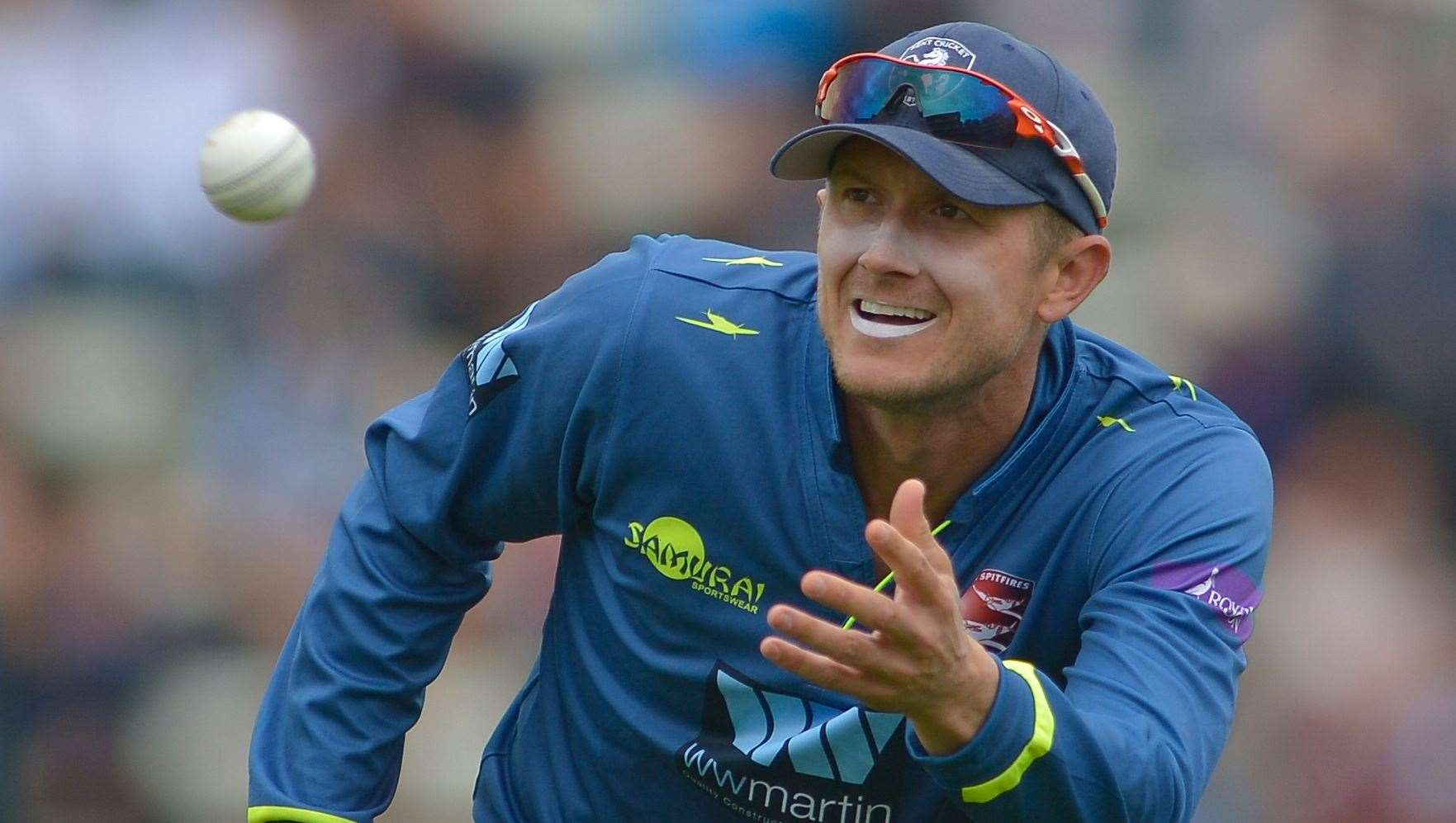 Joe Denly is set to return for Kent on Tuesday. Picture: Ady Kerry
