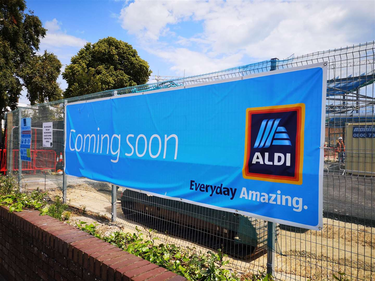 Aldi in Deal will open on Friday, November 22. Picture: Daniel Hodgson