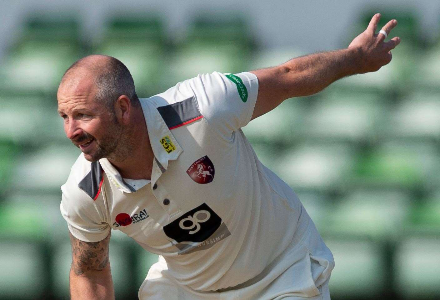 Darren Stevens has signed a new contract with Kent. Picture: Ady Kerry