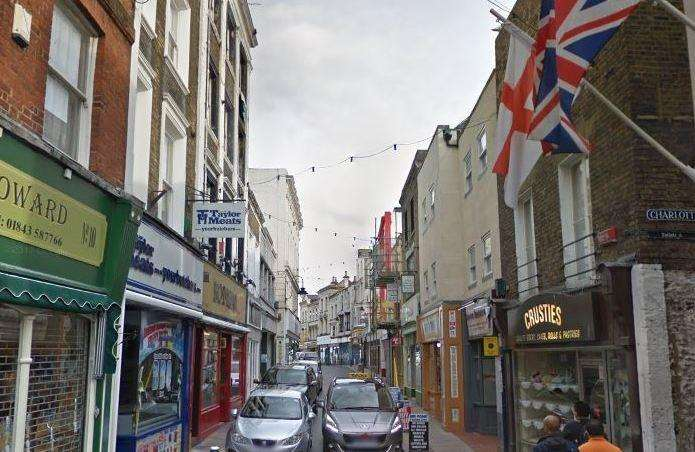 Three women were reportedly assaulted outside a pub in Harbour Street, Ramsgate on Saturday night