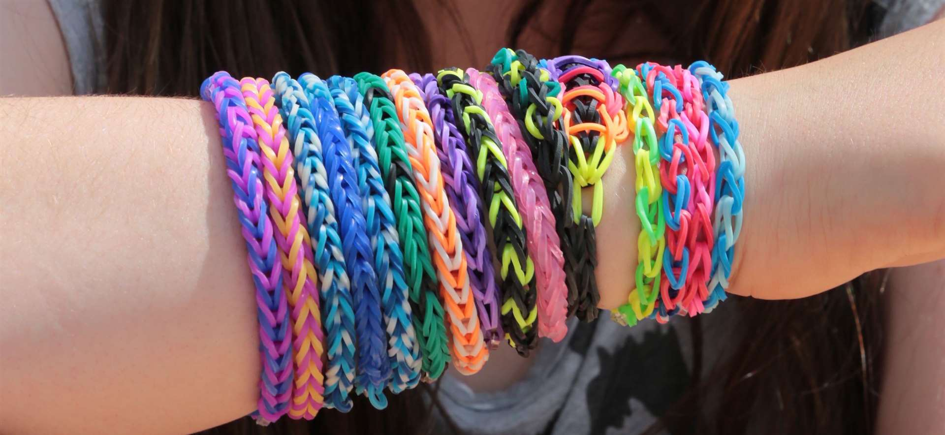 Loom bands used to make friendship bracelets were extremely popular five to seven years ago