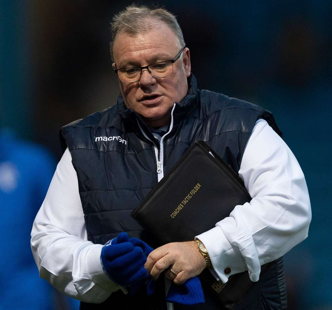 Gillingham manager Steve Evans Picture: Ady Kerry