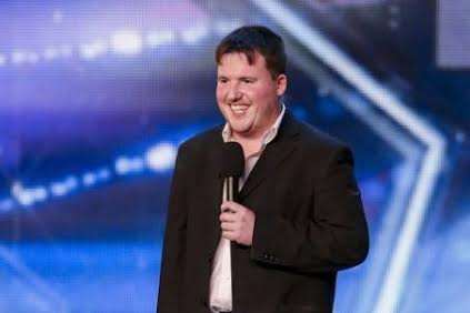 Paul Manners performing on Britain's Got Talent