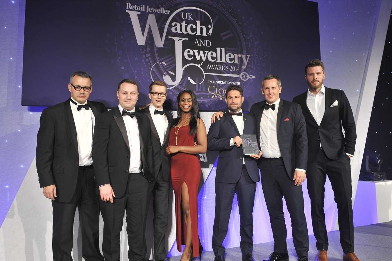 Watchfinder was named Watch Retailer of the Year at the UK Watch and Jewelery Awards