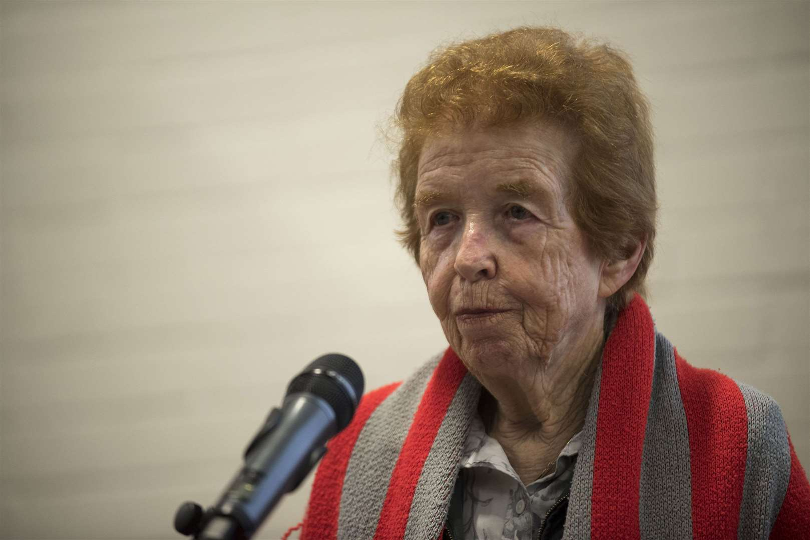 Holocaust survivor Eve Kugler. Picture Mark Westley