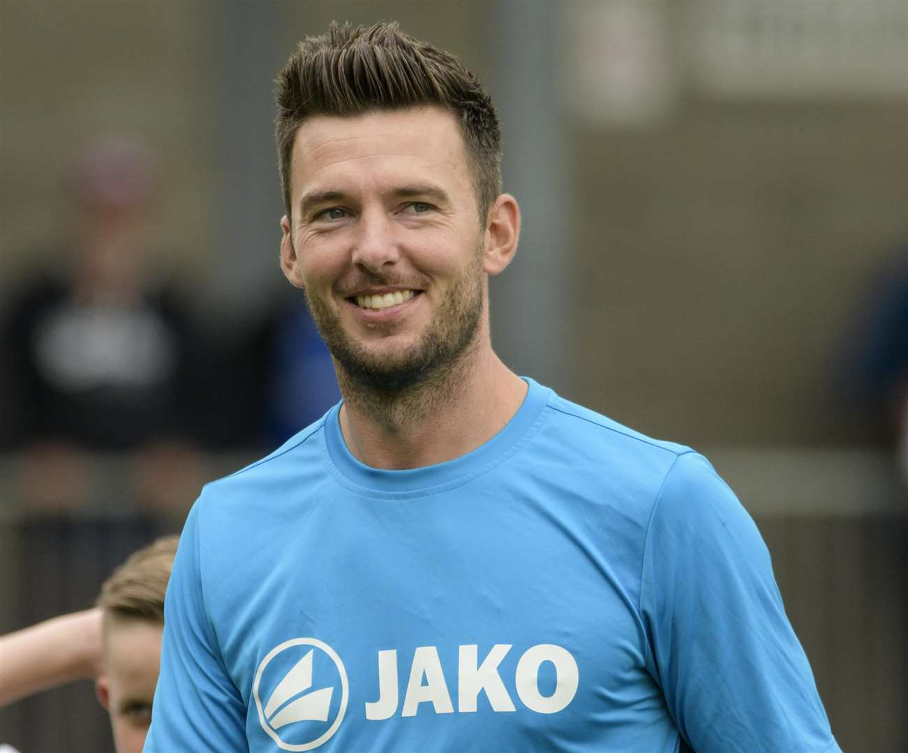 Dartford joint-manager Jamie Coyle. Picture: Andy Payton