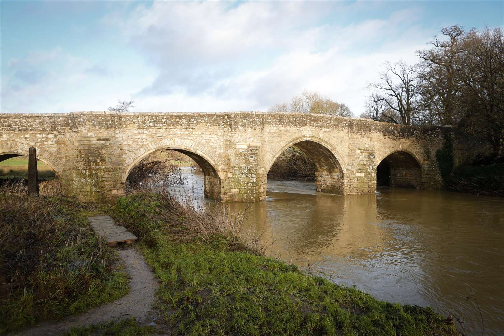 Teston Bridge. Picture by: Matthew Walker FM2968597 (5979002)