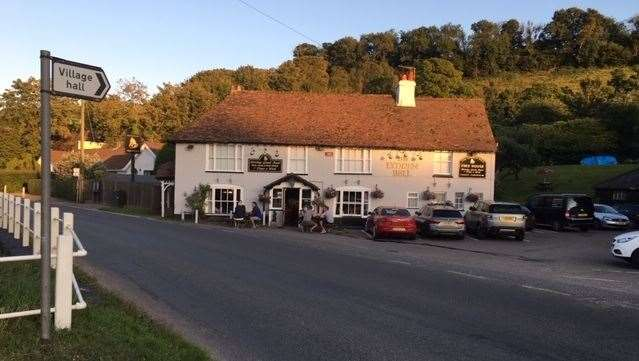 The pub is around five miles from Dover, eight miles from Folkestone and 10 miles from Canterbury, and within easy reach of the A2
