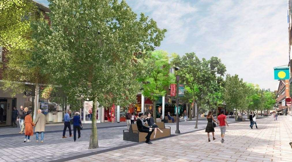 Canterbury City Council unveiled its plans for the shopping thoroughfare last month
