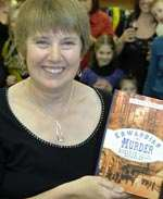 Diane Janes at her book launch in Sevenoaks